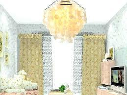 west elm capiz chandelier installation