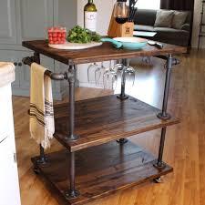 kitchen island cart industrial. Kitchen:Kitchen Island Industrial Appealing Mobile Islands Cart Casters Style Freestanding Look Portable Kitchen S