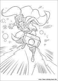 Small Picture Get This Printable Thor Coloring Pages 73400