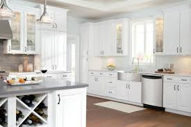 home kitchen furniture. White Kitchen Cabinet Ideas Furniture Cabinets  With Round Lamps And Simple Home