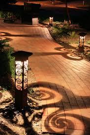 ornate lighting. 1 Swirls Path Lights IMG_7777 Ornate Lighting