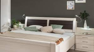 Schlafzimmer Set Luxor Bett Schrank Kommode Polar Lärche