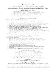 Sample Warehouse Management Resume Sample Warehouse Management Resume Inventory Skills Resume Brilliant