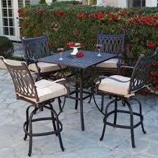 Patio Outstanding Tall Patio Furniture Tall Patio Chairs Outdoor Pub Style Patio Furniture