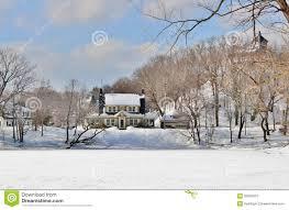 Winter Snow Scenes Stock Photo Image Of England 2015 50602010