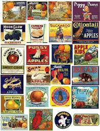 Vintage Food Labels Fruit Labels Printables Vintage Labels Printables Printable Labels
