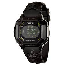 pulsar on the go pw3003 men s watch watches pulsar men s on the go watch
