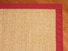 pottery barn cardinal color bound sisal 8x10 rug