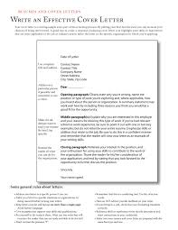 cover letter samples cover letter sample how to write