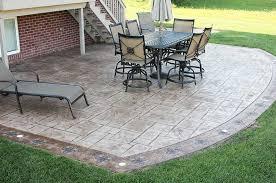 plain concrete patio. Stamped Concrete, Exposed Aggregate And Plain Concrete Patios Patio I