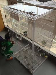 acrylic bird cage for small to medium birds jpg 580x774 plexiglass bird cages
