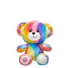 Build A Bear Buddies Rainbow Bear
