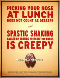 prescription drug abuse prevention spastic shaking print ad by  print ad by north castle partners advertising
