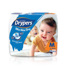 Wee Wee Diapers Size Chart Products Drypers Malaysia