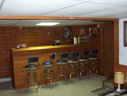 Decoration  Eye Catching Home Interior Basement Bar Ideas Showing - Simple basement bars