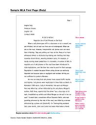 Mla Citation Essay Mla Citation For Harrison Bergeron Easybib Free