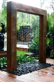 how to make a water wall fountain outdoor water wall fashionable outdoor water wall outdoor water how to make a water wall fountain