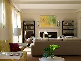 Transitional Living Room Design Magnificent Living Room Etagere Transitional Living Room Bella Mancini Design