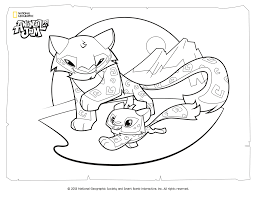 Small Picture Animal Jam Snow Leopard Coloring PagesJamPrintable Coloring