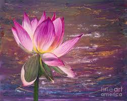 lotus painting lotus flower by patty vicknair