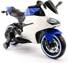 <b>Детский электромотоцикл Ducati</b>- FT-1628-B-W
