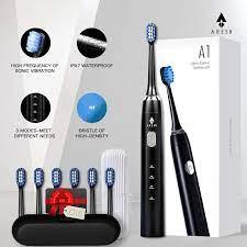 ARESH A1 elektrikli diş fırçası akıllı şarj edilebilir Sonic diş fırçası 3  modu yetişkin zamanlayıcı IPX7 su geçirmez otomatik Ultra sonic  fırça Electric Toothbrushes