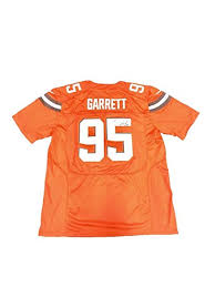 - Home Sports Amazon's Certified Signed Myles Jsa Autographed Jersey Jerseys Nfl Store Orange Collectibles Garrett At