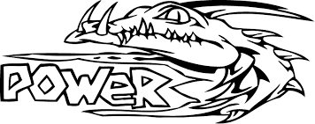 Small Picture printable power of alligator coloring page Coloring Point
