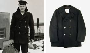 authentic us navy peacoat