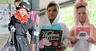 book week bo student lync dressed as mary poppins left australian theme