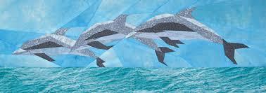 silver linings quilting pattern dolphin frolic & DOLPHIN FROLIC Adamdwight.com