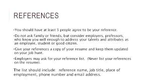 Should You Put References On Your Resume Resume Include References Does A Do Not Available Upon Request