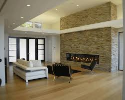 living room contemporary fireplace designs nature wall art decor gas surroundantels small window