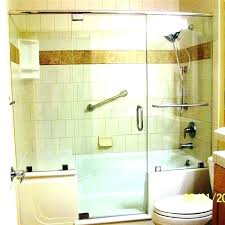 combination walk in bathtubs the home depot bathtub and showers tub shower combo