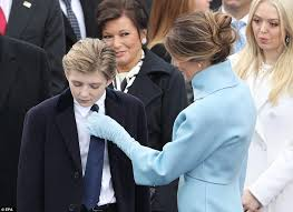 Image result for melania trump and barron trump