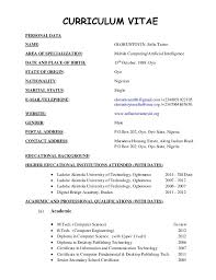 Resume Format For Banking Jobs There Are No Academic Jobs And Getting A Ph D Will Make You Into A