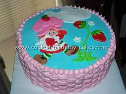 Toy Story Birthday Cake Strawberry Shortcake Kids Birthday Cake Idea