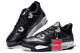 air jordan 4 retro oreo black leather white speckle new release
