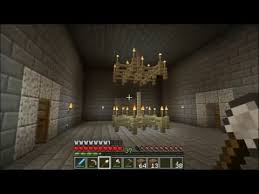 minecraft chandeliers how to build