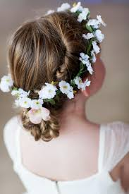 Flower Hair Style flower girls hair style 2519666 weddbook 5625 by wearticles.com