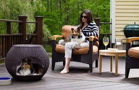 pet bed furniture. Indoor/Outdoor Igloo Dog Bed Pet Furniture