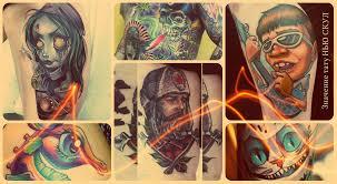 значение тату нью скул фото готовых татуировок рисунки