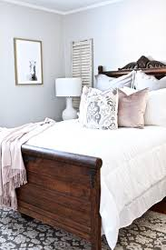 white bedroom with dark furniture. Perfect With I Love The Bedding Colours With Dark Wood Exact Same As Our Bed Inside White Bedroom With Dark Furniture E