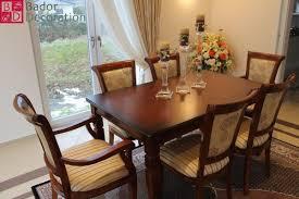 Bador Decoration Tischgruppe Hanna Mit 6 Stühlen Aus