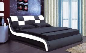 designer bed furniture. Luxury Bedroom Furniture King Designer Bed Size Black Amp Red T