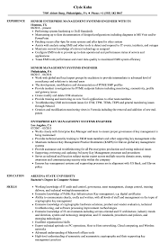 Management Systems Engineer Resume Samples Velvet Jobs