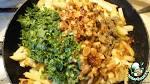 Картошка с отварными грибами жареная