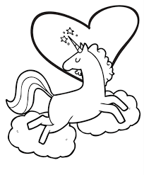 Free Super Cute Printable Unicorn Coloring Book Pages Fun Thrifty Mom