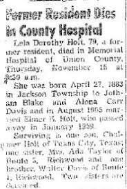 Lela Davis Holt (1883-1962) - Find A Grave Memorial