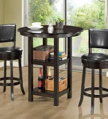 high top table and chairs kitchen. small high top round kitchen table with storage and chairs